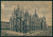 Milano Città Duomo FG cartolina VK2532