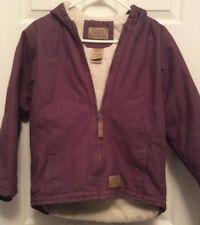 Schmidt Work Wear Purple Fleece Lined Regular 10-12 Youth Girls Jacket