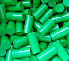 10 Pack Green 13 Dram Pop Top Bottle Vial Medical Pill Storage Prepper Doomsday