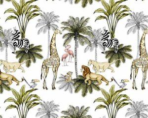 Licensed Disney Lion King Print 100% Cotton Fabric - Fat Quarter 50x75cm Simba
