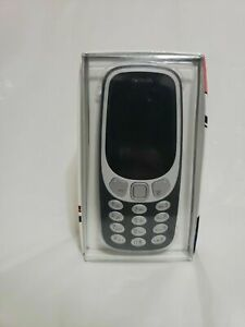 Nokia 3310 Cell Phone FACTORY Unlocked Cellphone - Charcoal  BRAND NEW