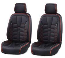 Autositzbezug Sitzbezüge Schonbezüge Schonbezug aus Kunstleder Farbe Schwarz