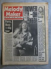 MELODY MAKER 30th August 1975 ~ Reading Festival ~ Chris Farlowe ~ Yes ~ Robin T