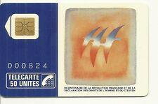 RARE / CARTE TELEPHONIQUE - FOLON : NUMEROTEE NUMERO BLANC / 3000 ex / PHONECARD