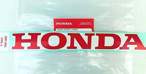 ORIGINAL Honda Aufkleber-24cm x 3cm-Sticker-CBR-Verkleidung-Fairing-ROT/WEISS
