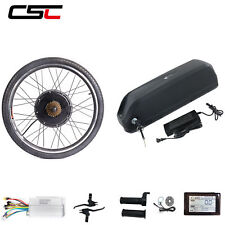 48V Electric Bike Conversion Kit ebike Battery E-Bike Motor Wheel SW900