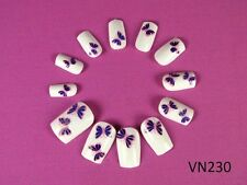 Pre Glued French Acrylic False Nail Tips Art Nails N-T-VN230