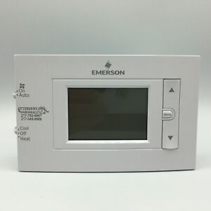"""Emerson 1F83C-11NP 80 Series 1H-1C 4.5"""" Display Non-Programmable Thermostat"""