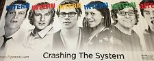 The Internship Actual Theater Promotional Banner 4'x10' Vince Vaughn Owen Wilson