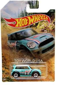 2019 Hot Wheels Rally Sport Series #4/6 Mini Cooper S Challenge Wal-Mart Exclusi
