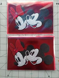 Papyrus Mickey & Minnie Mouse Greeting Cards Blank Inside 2 count