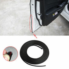 1m Black Moulding Trim Strip Car Door Scratch Edge Guard Cover Crash US