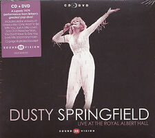 [NEW] CD + DVD: DUSTY SPRINGFIELD: LIVE AT THE ROYAL ALBERT HALL