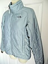 The North Face Jacket Medium M Blue Diamond Quilted Full Zip Snow Flake Lining