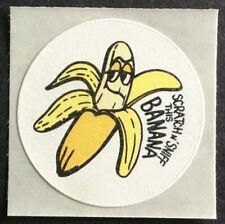 Build A Banana Split Mint Condition!! Vintage Stickers Hallmark