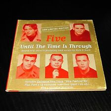 Five - Until The Time Is Through CD2 Limited Edition +4 Postcards #66