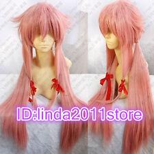 New Future Diary Mirai Nikki Gasai Yuno Cosplay Women's Wig wigs