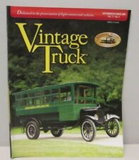 Vintage Truck Magazine September/October 2009 ~ Old Time Bussing