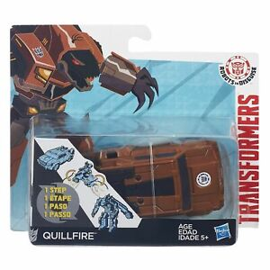 NEW HASBRO TRANSFORMERS QUILLFIRE FIGURE 1 STEP CHANGER B4653