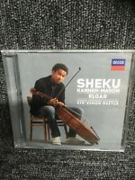 Sheku Kanneh-Mason - Elgar.  CD. new Sealed. Simon Rattle. Freepost In Uk