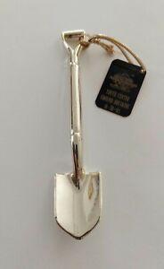 1990 Gold Die Cast Minature Shovel FREEMAN PROD. P/N L-010/900 With Tag~MINT CON