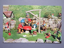 R&L Postcard: The Gnomes Garden, Blackgand Chine, Isle of Wight, Jarrold