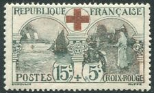 FRANCE-1918 Red Cross Fund Sg 378  MOUNTED MINT V22266
