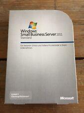 Windows Small Business Server 2011 Standard Deutsch mit 5 CAL und  MwSt Rechnung