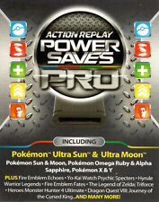 Action Replay for Nintendo 3DS 2DS XL Saves Cheats Codes Power Saves PRO Datel