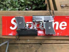 Toy Laser/Flashlight Keychain Gun !