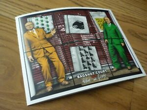 GILBERT & GEORGE - NEW NORMAL PICTURES - GATEFOLD EXHIBITION / SHOW CARD 2021