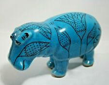 Nice Metropolitan Museum of Art Mma William Blue Clay Hippo Hippopotamus