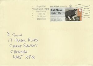 C182 SEA Essex Jan 2013 1st Class Post and Go  Berkshire pig stamp cover