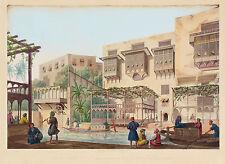 Vue des Casins sur le canal El-Khalyg, Hors la porte Bab-el-Charyeh.