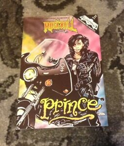 PRINCE RARE Rock N Roll Comic Book #21 1991 Revolutionary George Clinton NPG LP