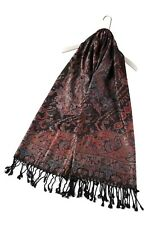 100% Pashmina Schal Paisley Wrap Schal Stola 70cm x 180cm Neu Qualität Geschenk Idee