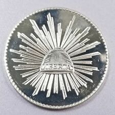 1985 Viva Mexico Silver 1 oz Cap and Ray Figure 1011-23