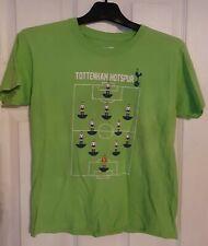 Jungen Tottenham Hotspur, Spurs offiziellen grün Subbuteo T Shirt 7-8 Jahre
