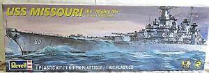 "REVELL 0301 plastic kit USS MISSOURI The ""Mighty MO"" U.S Navy 1:535 New"