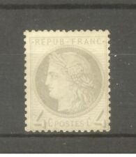 """FRANCE STAMP TIMBRE N° 52 """" CERES 4c GRIS """" NEUF xx TB SIGNE"""