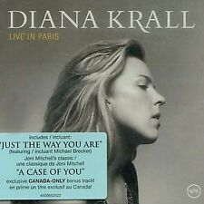 Live in Paris by Diana Krall (CD, Oct-2002, Verve) 13 tracks
