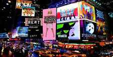 Bustling city 20'x10' CP Backdrop Computer printed Scenic Background YKY-178