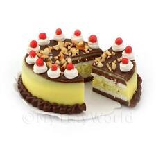 Maison De Poupées Chocolat Miniature Cake Au Citron