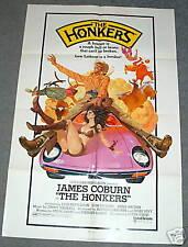 1sh posterJAMES COBURN cowboy THE HONKERS