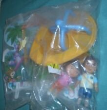 SIGNATURE DORA PLAYTIME' 'LARGE  CAKE DECORATION SET' MINT IN BAG'