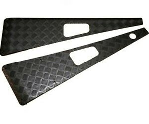 LAND ROVER DEFENDER 90/110 LHS WING TOP CHEQUER PLATE BLACK WTKIT01-LAH/B NEW