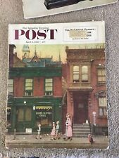 Saturday Evening Post April 4 1953 Norman Rockwell Cover
