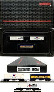 MARKLIN Z SCALE 88126-08 M/M 0582-0583-0584 SW Boxcar Car COLLECTOR Set Box C9
