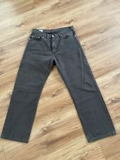 """Mens Lacoste Dark Grey Cotton Trousers 34"""" Waist 28"""" Leg Immaculate Condition"""
