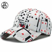 Fashion Baseball Cap Hip Hop Cotton Casquette Poker For Women Men Snapback Hat